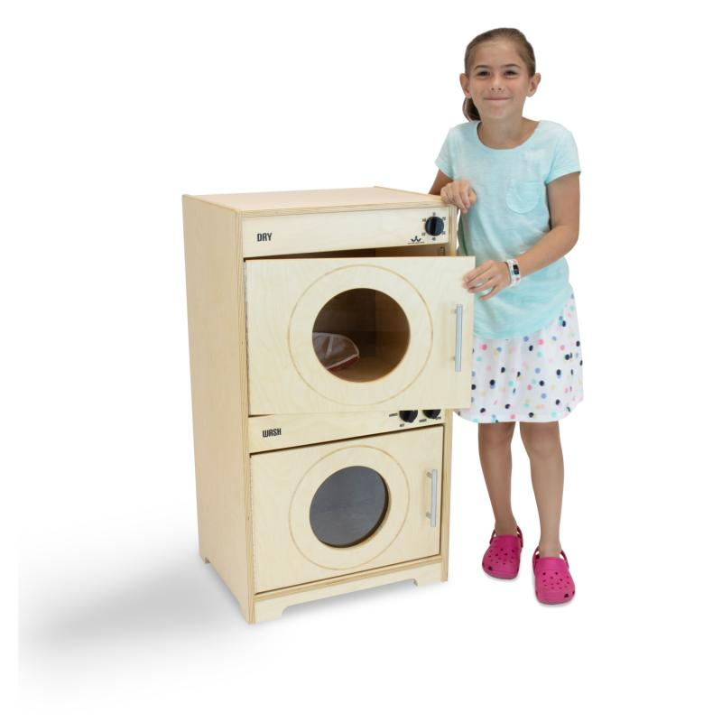 WB6450N Contemporary Washer/Dryer - Natural