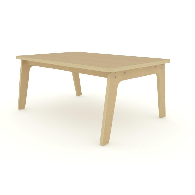 "WR304720M - 30"" X 47"" Maple Rectangle Table 20"" High"