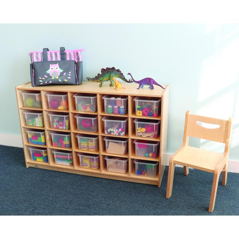 WB3251 - Cubby Storage Cabinet With 20 Trays