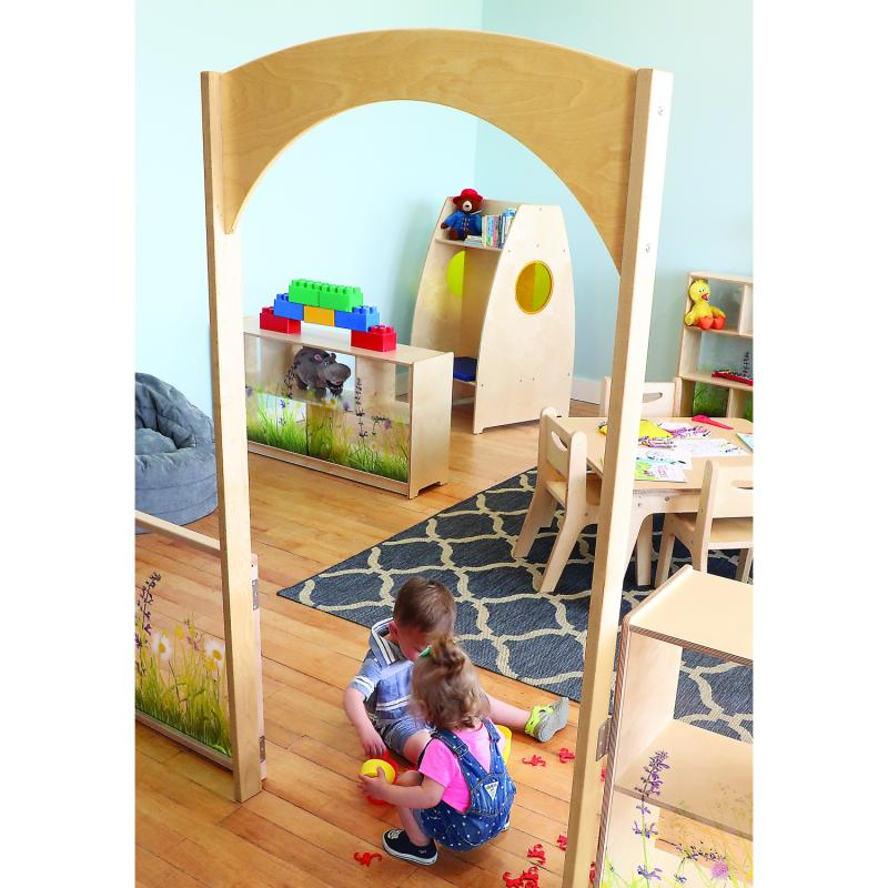 WB0263 - Nature View Room  Divider Archway
