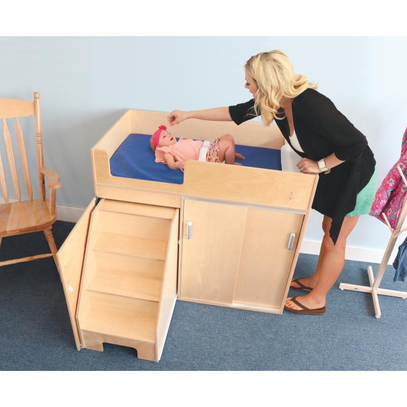 WB0648 - Step Up Toddler Changing Cabinet