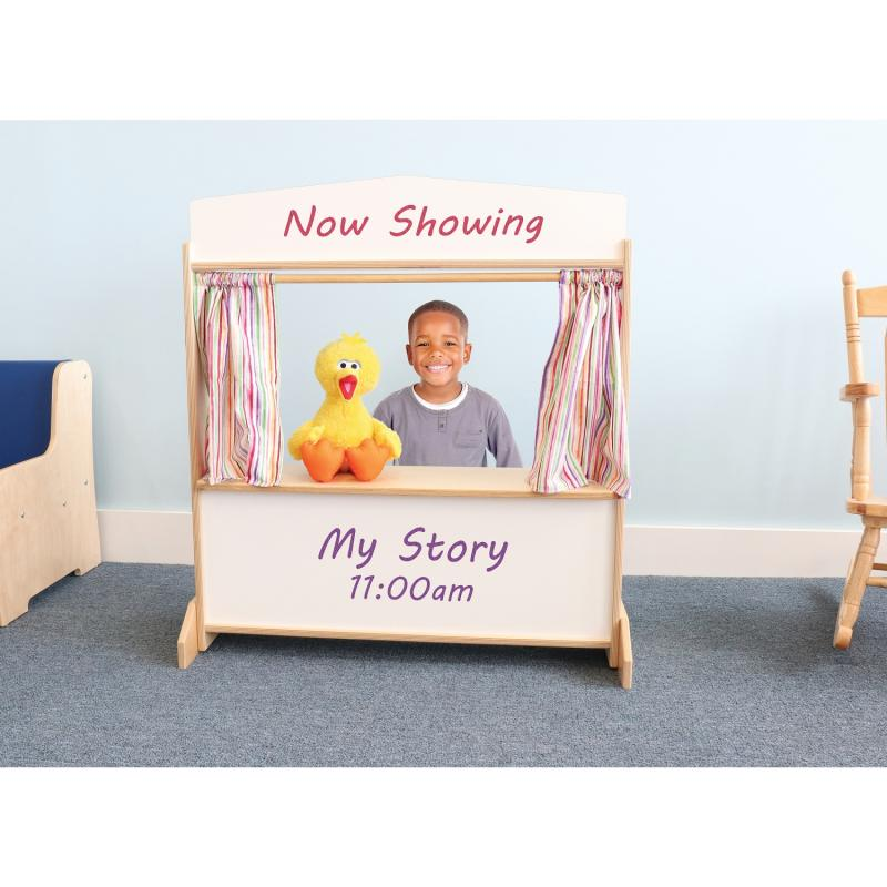 WB0965 - Deluxe Puppet Theater With Markerboard