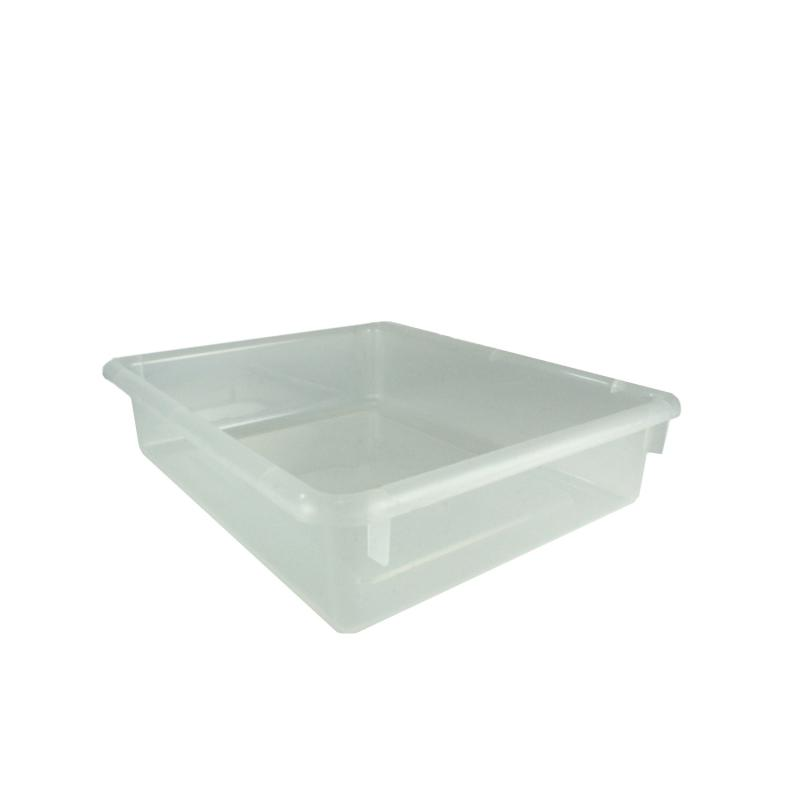 101-320 - 13 X 10.5 X 3 Clear Letter Tray
