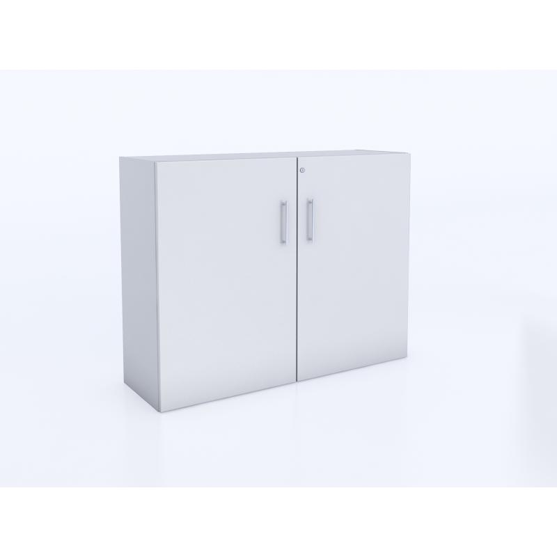 WB0658 - Whitney White Lockable Wall Cabinet