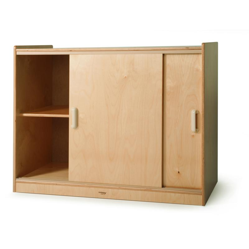 Wb9698 Sliding Doors Storage Cabinet