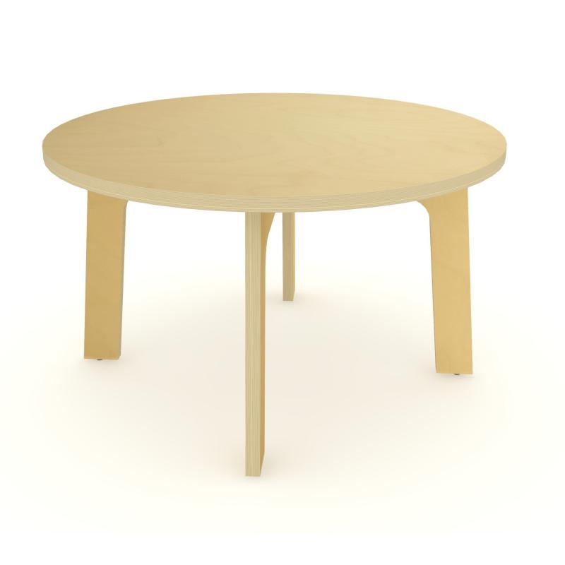 "WX3520M - 35"" Dia Maple Round Table 20"" High"