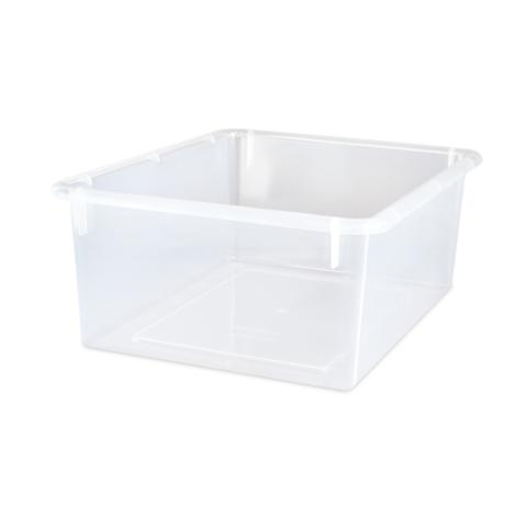 101-474 - 13 X 10.5 X 5 Plastic Tray - Clear