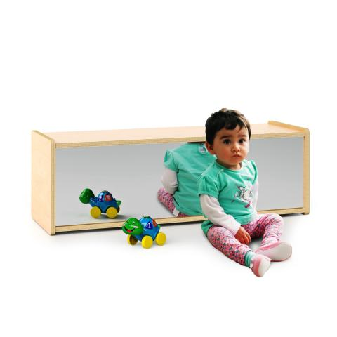 WB1731 - Infant Storage Shelf With Mirror Back