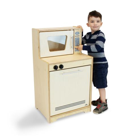 WB6410N Microwave And Dishwasher - Natural