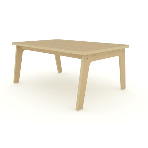 "WR304718M - 30"" X 47"" Maple Rectangle Table 18"" High"