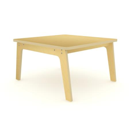 "WS3522M - 35"" Square Maple Table 22"" High"