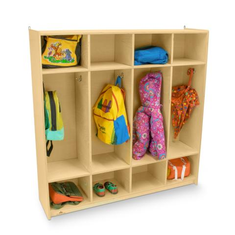 WB0128 - Four Section Coat Locker