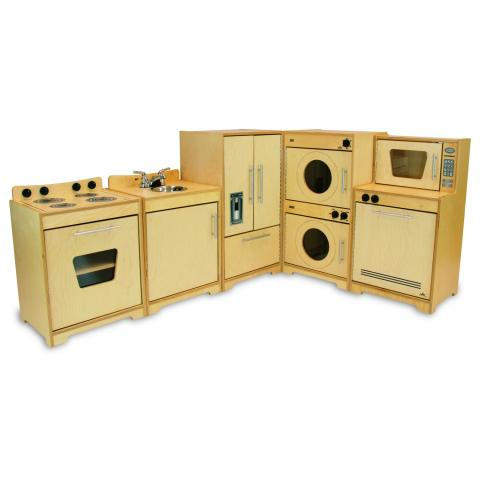 WB6400N Contemporary Kitchen Set - Natural