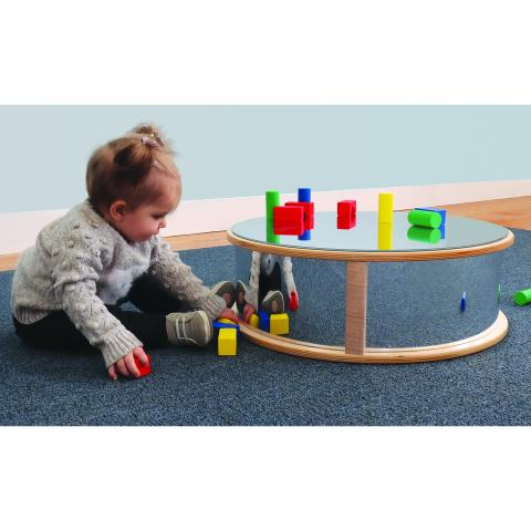WB1059 - Round Infant Floor Mirror