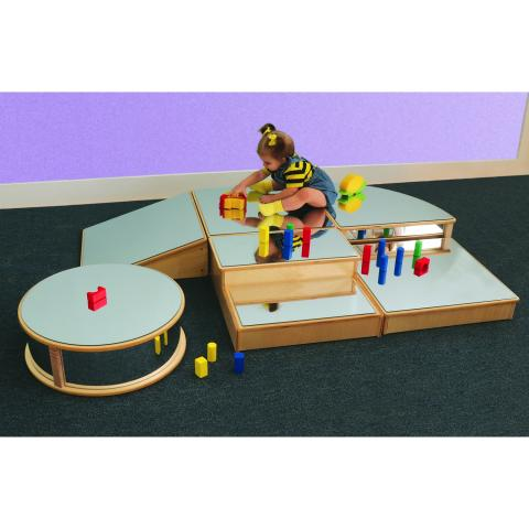 WB0220 - Infant Floor Mirror Set