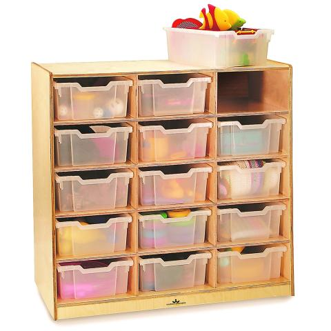 WB0915T - 15 Tray Storage Cabinet