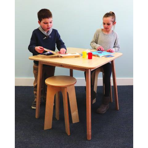 WB2180 - Stand Up Table With Two Stools Set