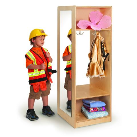 WB0885 - Dress Up Mirror Wardrobe