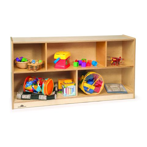 "WB0553 - 24"" Basic Toddler Single Storage Cabinet"