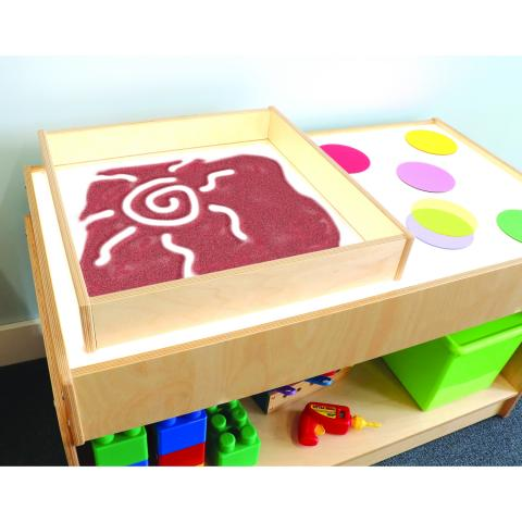 WB1428 - Sand Box For Light Tables