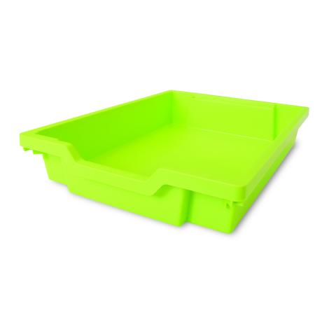 101-286 - Shallow Gratnell Storage Tray - Green