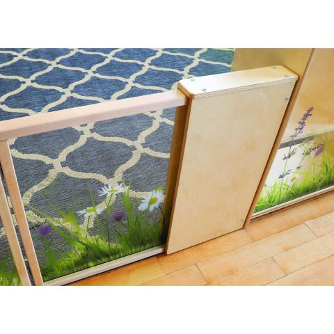 WB0258 - Nature View Room Divider Adjustable Extension