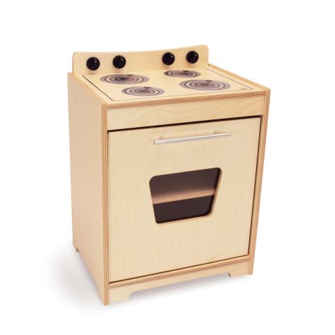 WB6420N Contemporary Stove - Natural
