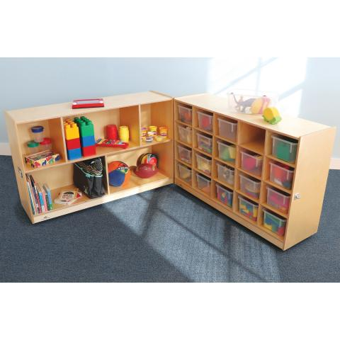 WB3252 - 20 Tray Fold and Roll Storage Cabinet