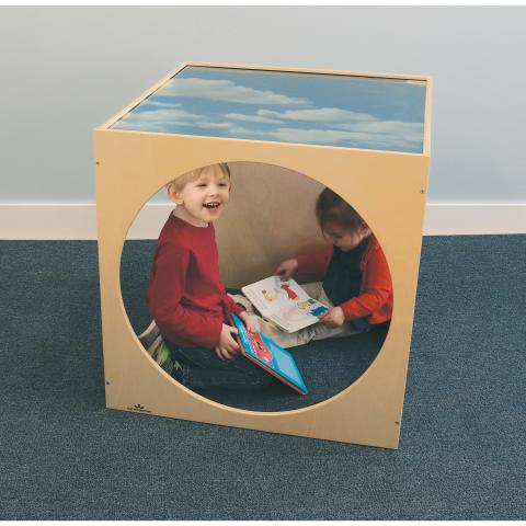 WB0212 Plexi Top Play House Cube