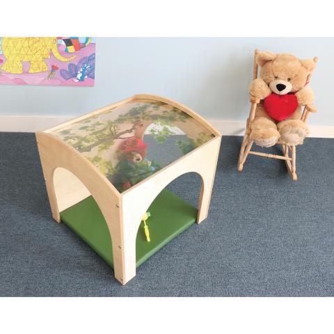 Toddler Nature Reading Retreat With Floor Mat Set