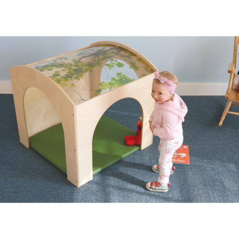 WB2432 Nature Reading Retreat With Floor Mat Set