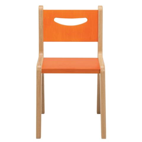 "CR2514O - Whitney Plus 14"" Orange Chair"