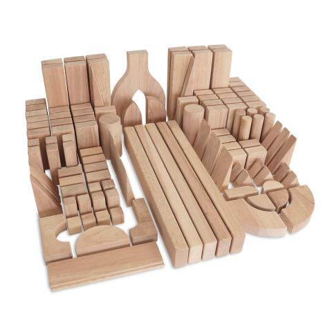 WB0369 - Intermediate Block Set 118 Pcs - 2 Ctns