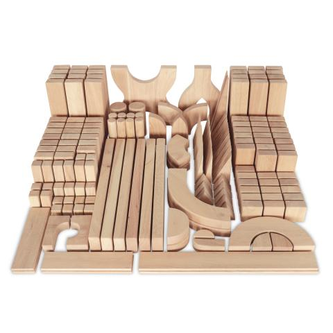 WB0372 - Quarter Unit Block Set 170 Pieces