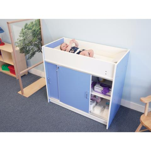 WB0721 - EZ Clean Infant Changing Cabinet