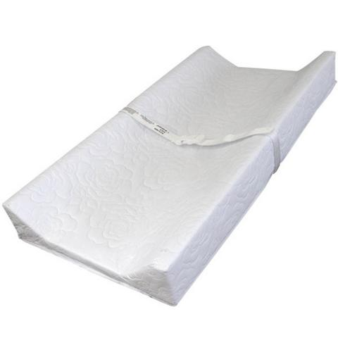 112-745 - White Contoured Changing Pad