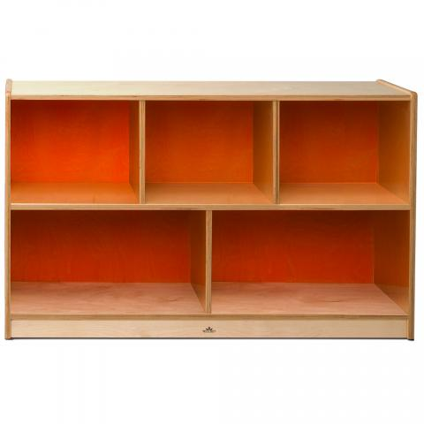 "CH1330O - 18mm 30"" High Cabinet Orange Back"