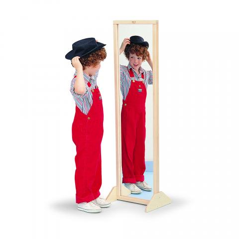 WB0338 - Vertical Or Horizontal Mirror W/Stand