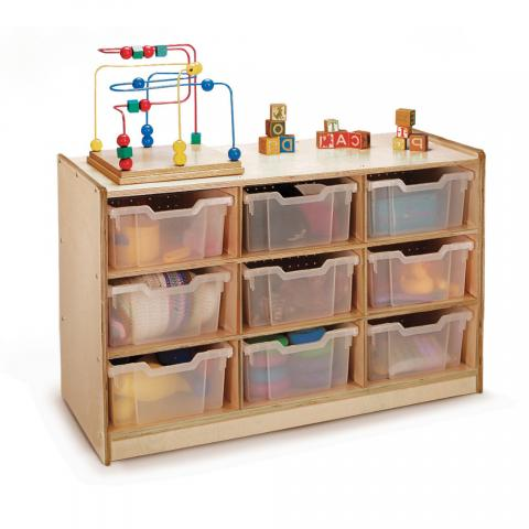 WB0909T - 9-Tray Storage Cabinet