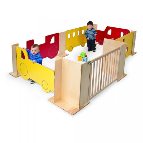 WB1110 - Toddler Play Space Transportation Area Set
