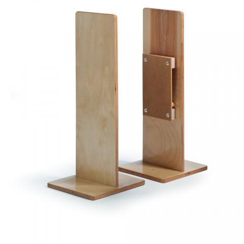 WB1116 - Room Divider Straight Post