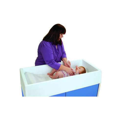 WB1341 - Changing Table Durable Molded Top