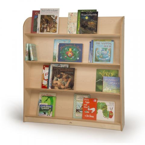 WB1566 - Single Sided Library Shelving