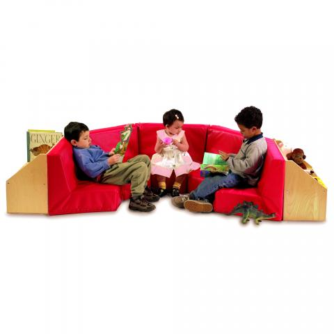 WB8510 - Five Section Reading Nook