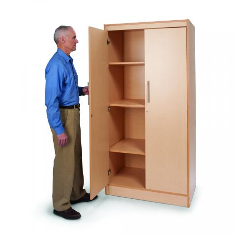 WB9202 - Tall And Wide Storage Cabinet - 2 Ctns
