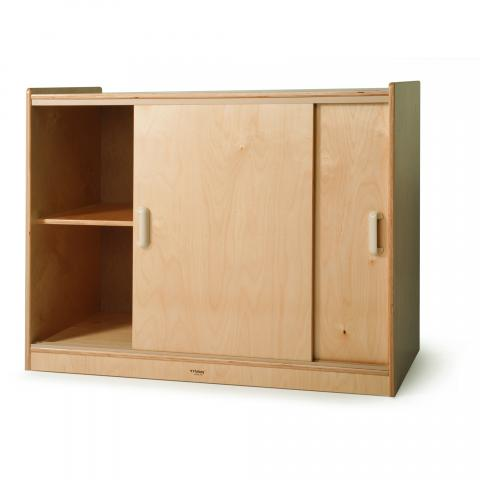 WB9698 - Sliding Doors Storage Cabinet