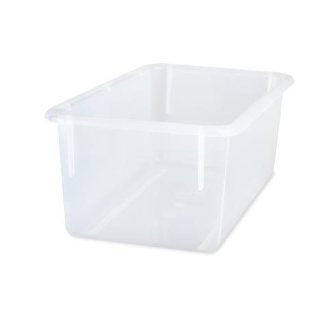 101-475 - 13.5 X 7.75 X 5 Plastic Tray - Clear