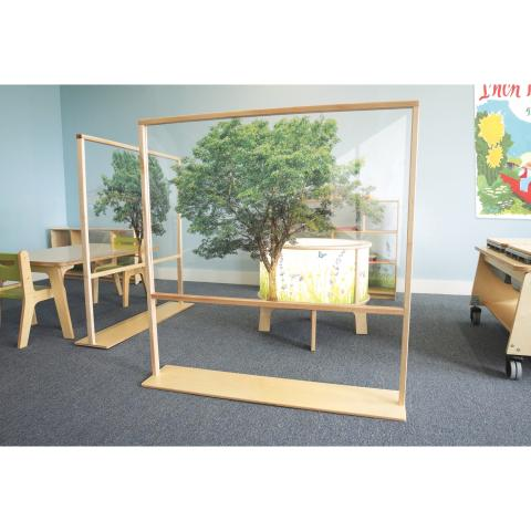 WB0538 Nature View Floor Standing Partition 48W