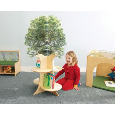 WB0551 Nature View Tree Book Shelf