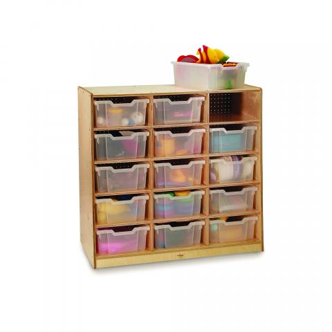 WB0915T - 15-Tray Storage Cabinet